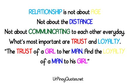 Love Quotes For Him Long Distance Relationship Tagalog