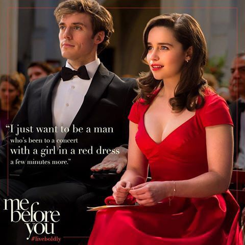 Me Before You By Jojo Moyes I Dont Why This Movie Gets To