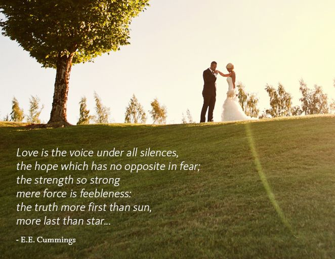 Love Quotes From Famous Authors To Steal For Your Vows