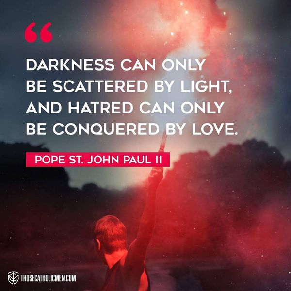 Darkness Can Only Beted By Light