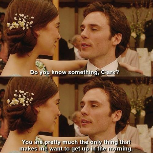Me Before You Everything About The Relationship Between Clark And Will Is Goals