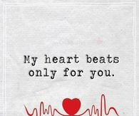 My Heart Beats Only For You