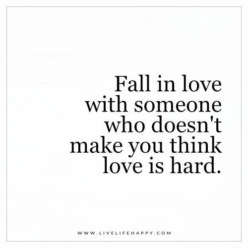 Fall In Love With Someone Who Doesnt Make You