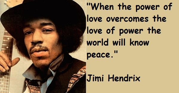 Jimi Hendrix Quotations Sayings Famous Quotes Of Jimi Hendrix