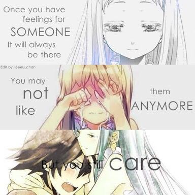 Sad Anime Quotes  C B I Did Like Someone But Know Idk But I Still Care Because His My Best Friend
