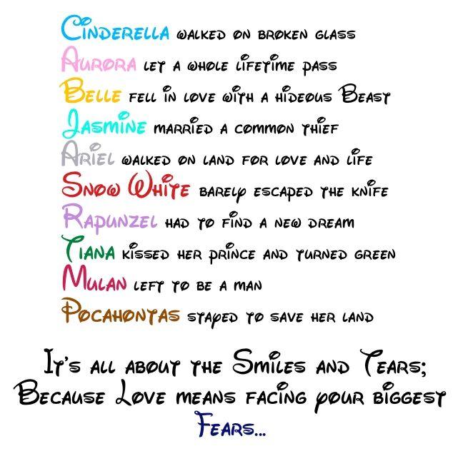 Funny Princess Quotes Disney Dumb Sayings Cute_love_quotes_disney Princess Love Quote Disney