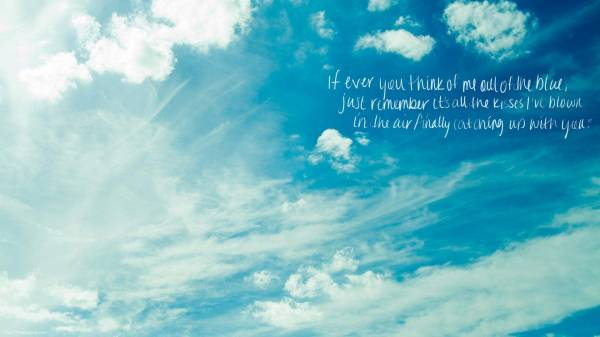 Blue Sky Quotes Image Quotes At Hippoquotes Com