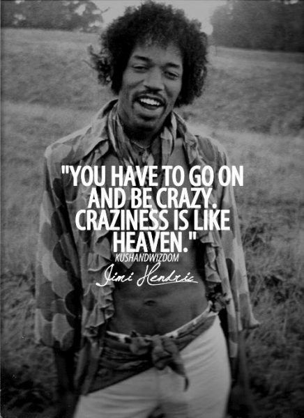 Jimi Hendrix Quotes On Peace Music And Love