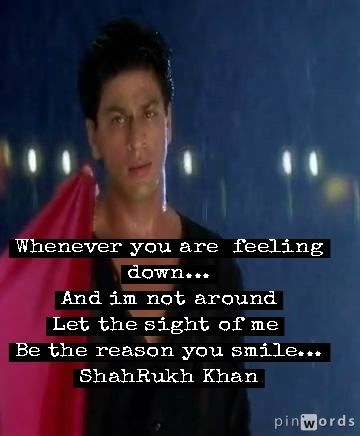 Shahrukh Khan See More I Capture By My Own Self This Pic In The Movie And Make This A Quote