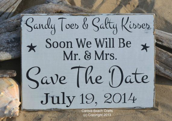 Save The Date Wedding Sign Beach Wedding Sign Decor Outdoor Rustic P O Prop