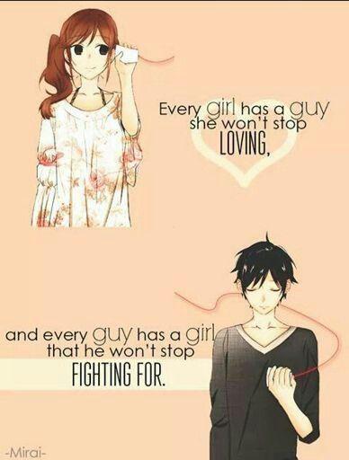 Anime Quote  E  A Romance