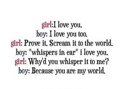 Boy And Girl Love Quotes