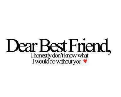 I Love You My Best Friend Quotes