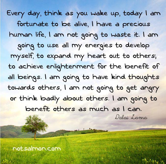Love This Dalai Lama Quote