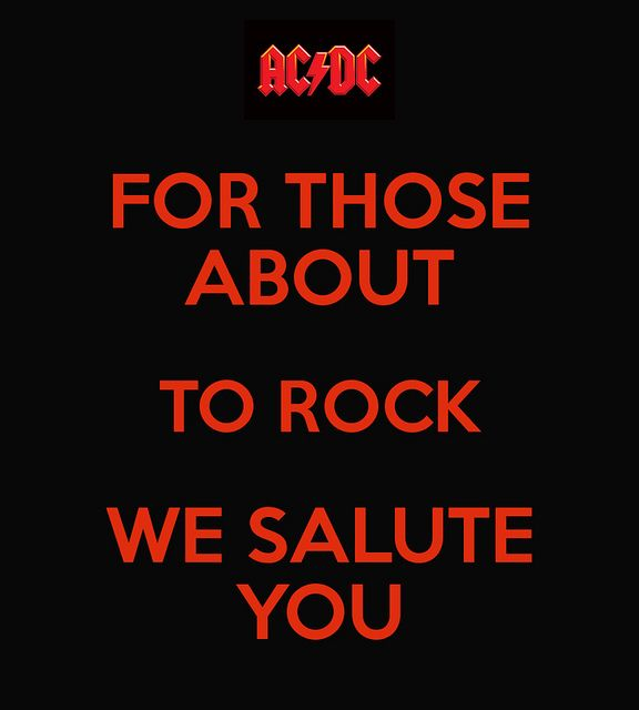 Sorry Nothing To Do With Traditional Pondering But I Love Ac Dc