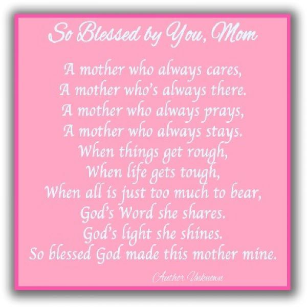 Examples Of Cute Poems For Mothers Day Mothers Day Poems And Poetry Collection