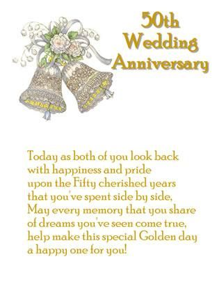 Th Anniversary Quotes Th Wedding Anniversary Wishes Golden Wedding Anniversar