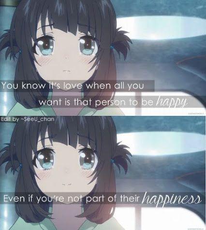 Beautiful Romance Anime Quotes