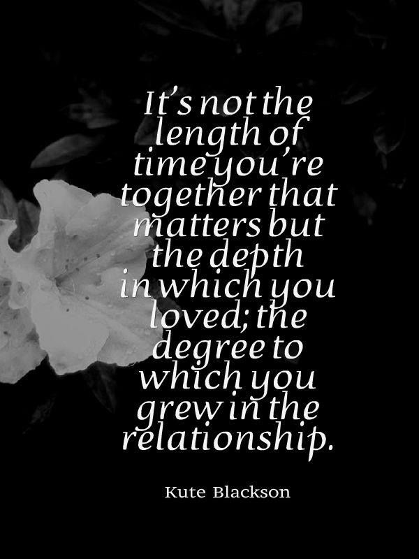 True Love Runs Deep And Knows No Time Limits