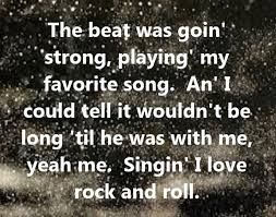 Joan Jett The Blackhearts I Love Rock And Roll Song Lyrics Song Quotes Songs Music Lyrics Music Quotes