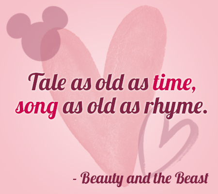 Add A Dash Of Disney Magic To Your Valentines This Year With These  Disney Movie Love Quotes