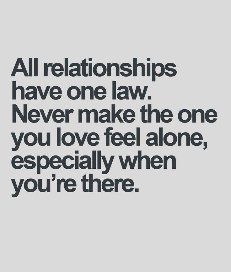 Feel Alone Love Quote Full Dose