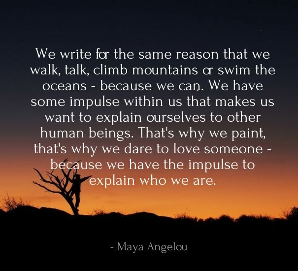 Maya Angelou Feel Quote About Love
