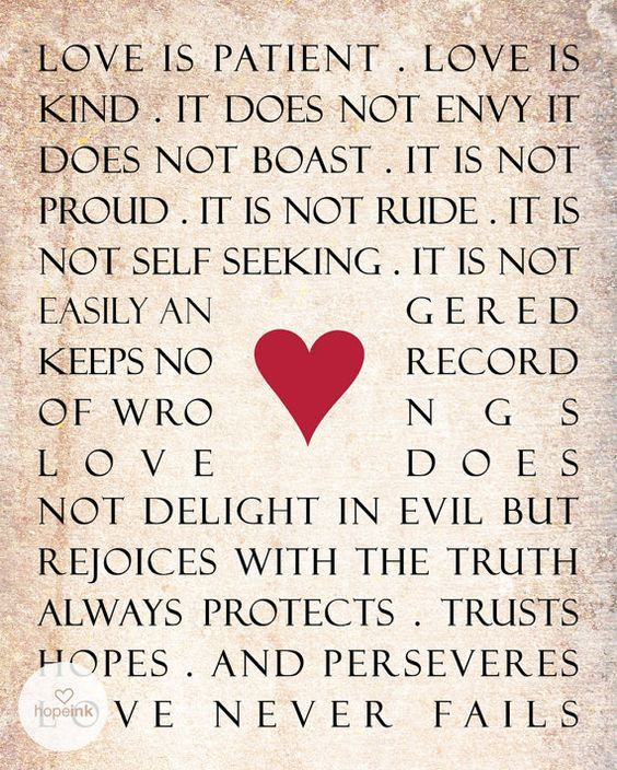 Image Result For Bible Quotes About True Love