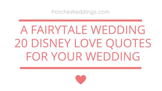 Disneytale Wedding