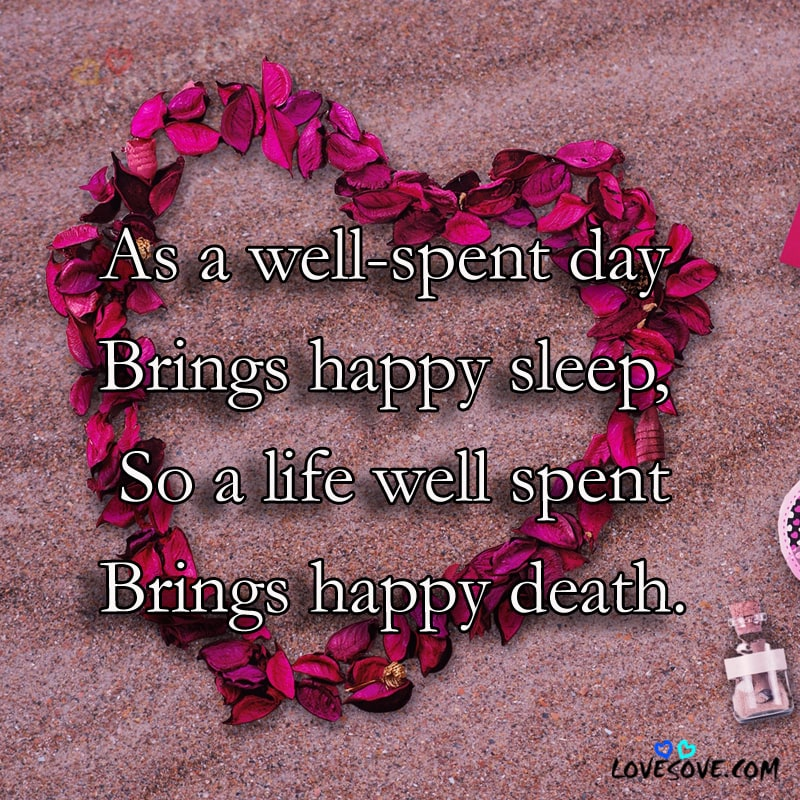 As A Well Spent Day Sad Life Quotes Wallpaper Sad Quotes Wallpapers