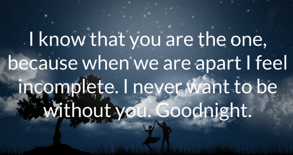 Cute Good Night Love Quotes For Him