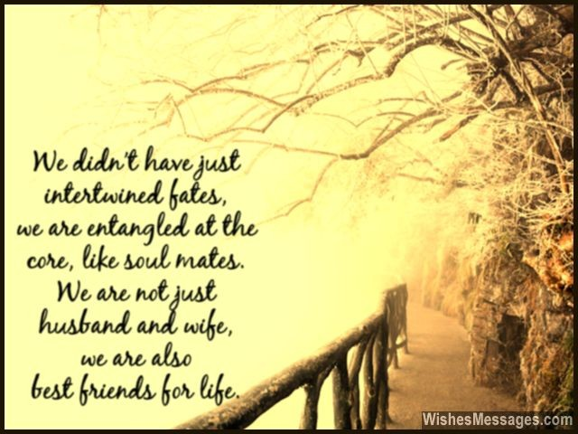 Cute Relationship Quote Husband Wife Friend For Life And Love