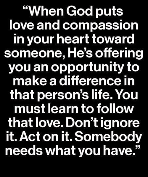Dont Ignore It Love Quote