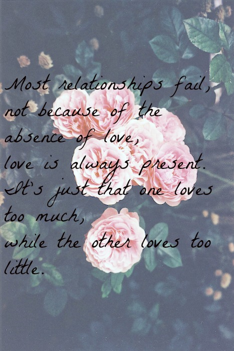 Flower Love Quotes Tumblr