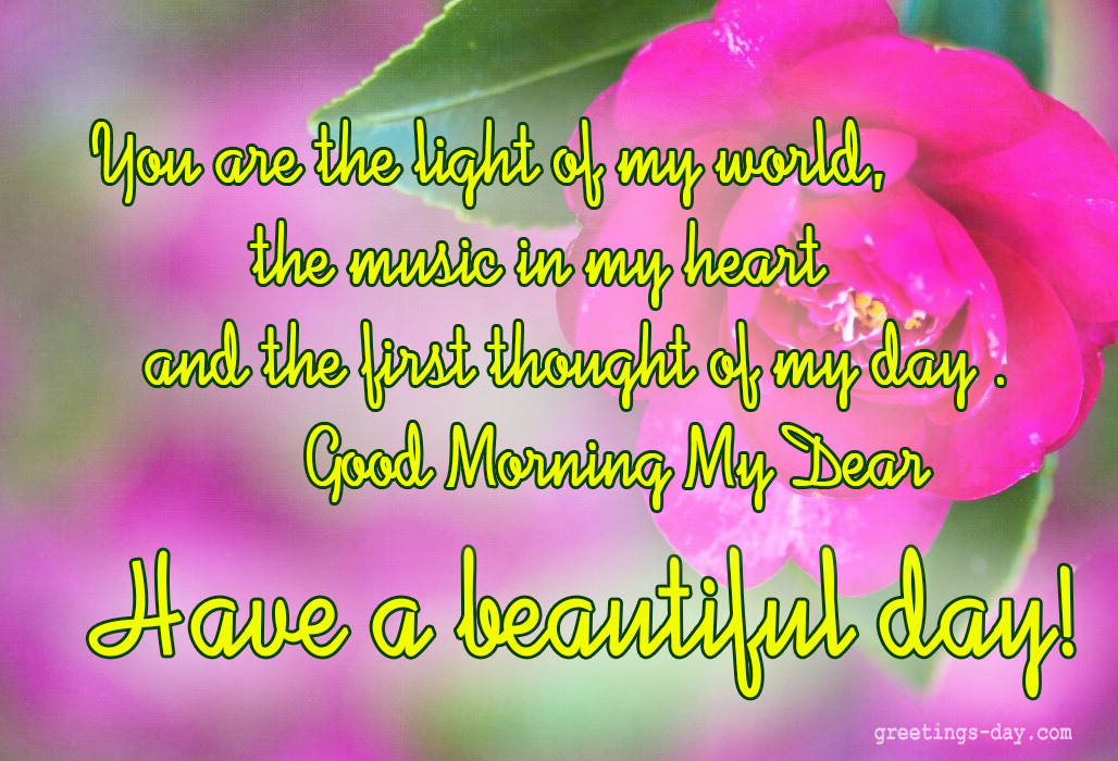 Good Morning  Best Pictures Quotes For Loved Ones