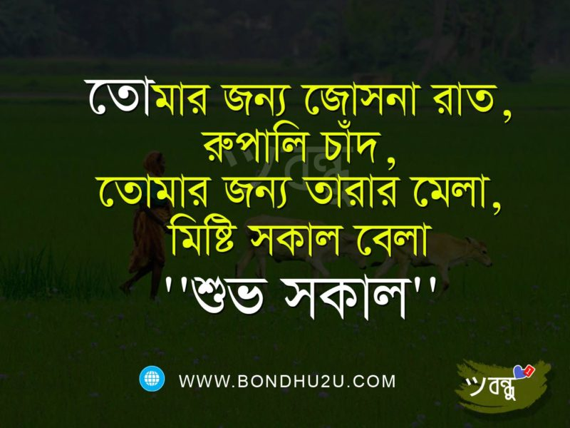 Good Morning Wishes In Bengali Pictures Images Good Morning Sms In For Girlfriend And Boyfriend Shuvo Sokal Sms Kobita Bengali English Sms