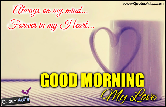 Good Morning My Love Quotes And Nice Lines Nice And New English Language Good