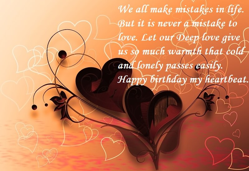 Happy Birthday Love Quotes For Boyfriend
