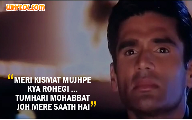 Sad Love Dialogues From The Movie Dhadkan