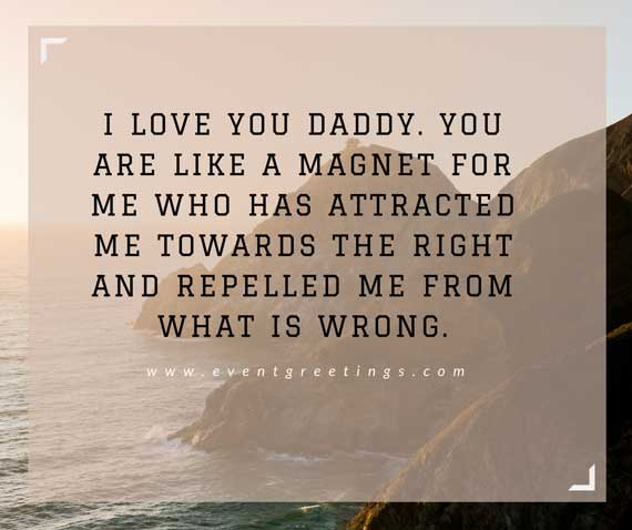 I Love You Messages For Daddy
