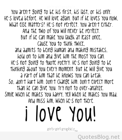 I Love You Quotes For Him For