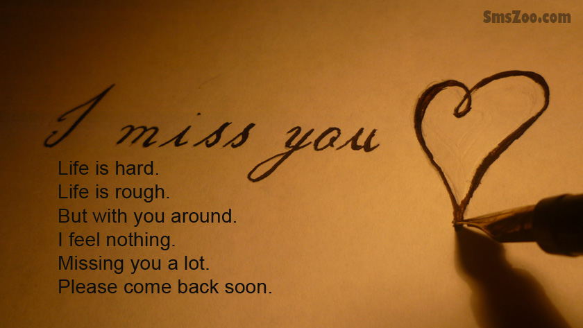 I Miss You Poems For Husband Him