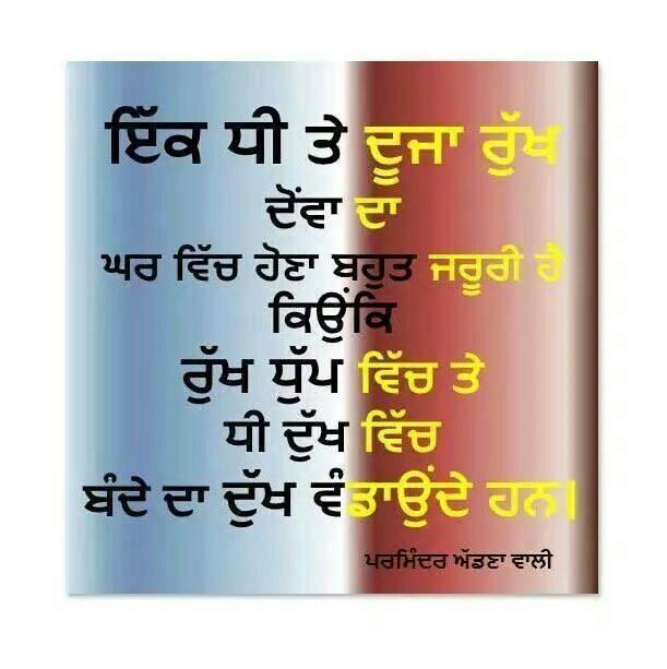 Ik Dhee Te Dujja Rukh