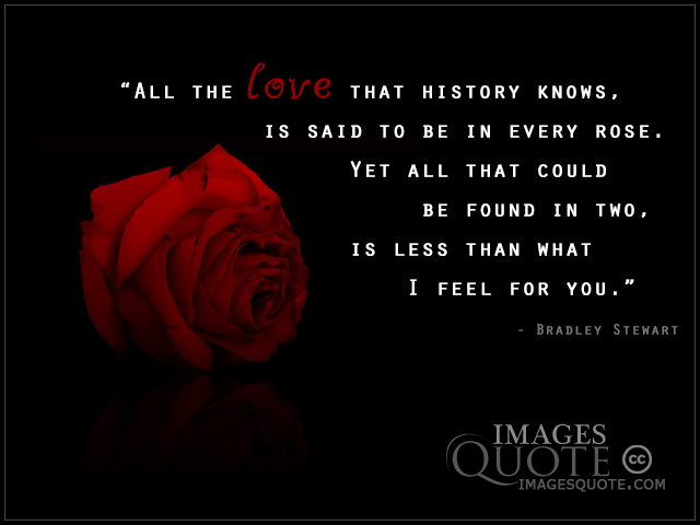Love That History Knows Love Quote