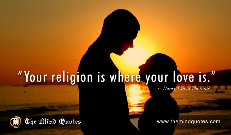Henry David T Au Quotes On Love And Religion