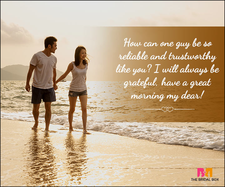 Morning Love Quotes For Him
