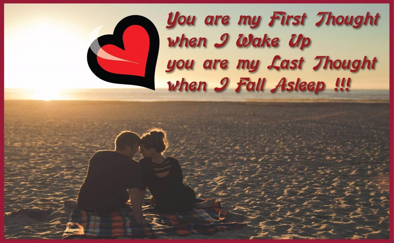 My First Thought Quotes For You To Share Your Love