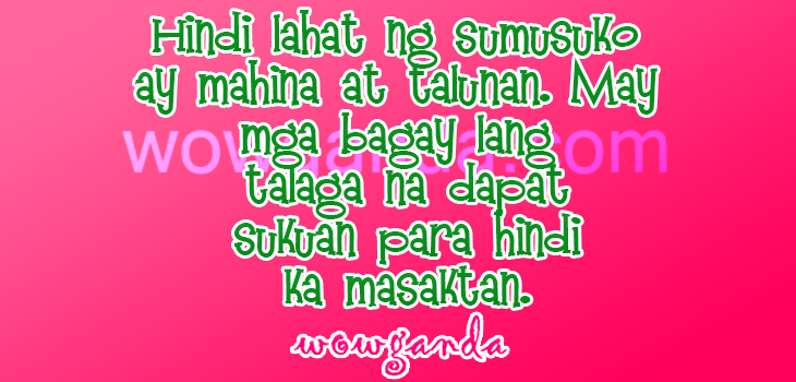 Tagalog Break Up Quotes