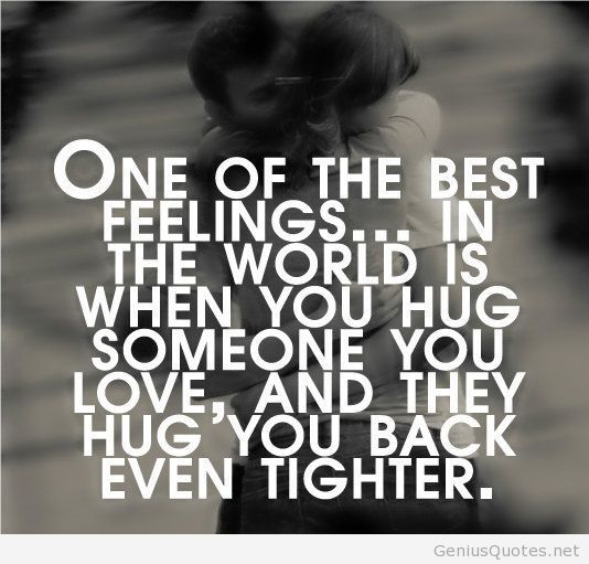 One Of The Best Love Feeling