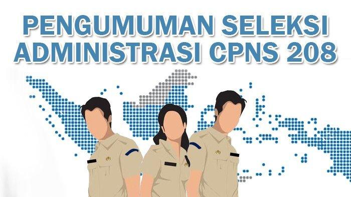 Pengumuman CPNS 2018: Pengumuman Seleksi Administrasi CPNS 2018 Pemerintah Daerah Kota Bima (Pemkot Bima)